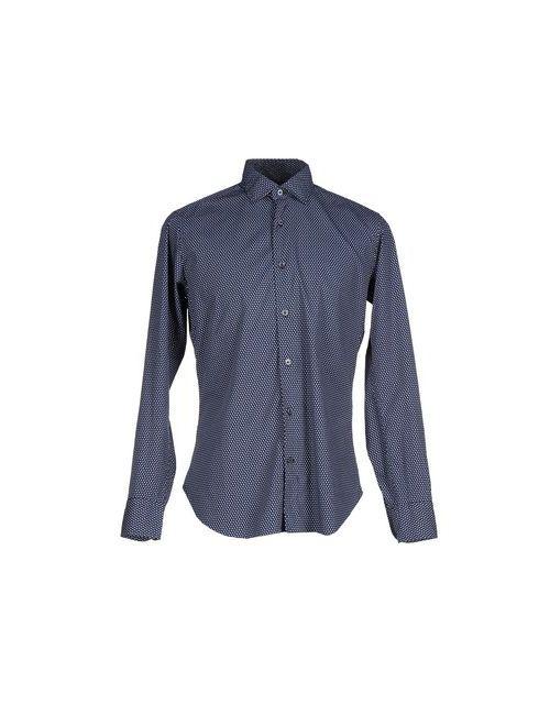 TRUZZI | Мужская Синяя Pубашка