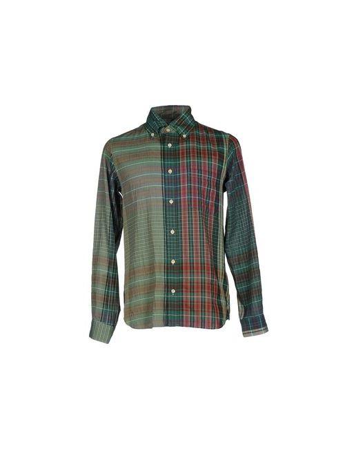 Ts(S) | Мужская Зелёная Pубашка