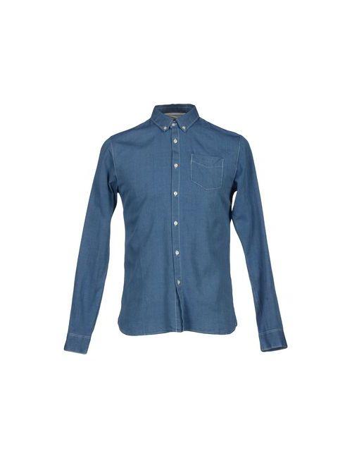 SCOTCH & SODA | Мужская Синяя Pубашка