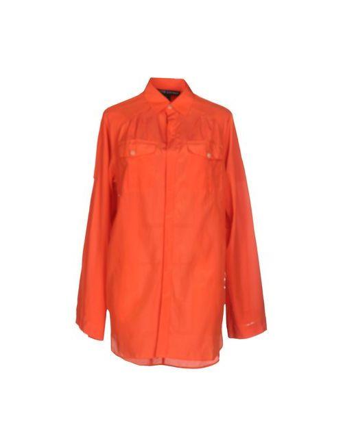 Ralph Lauren Black Label | Мужская Оранжевая Pубашка
