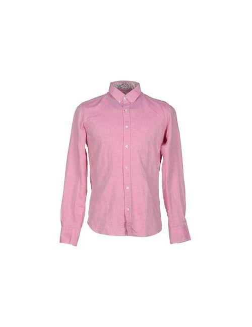 Himon'S   Мужская Фиолетовая Pубашка