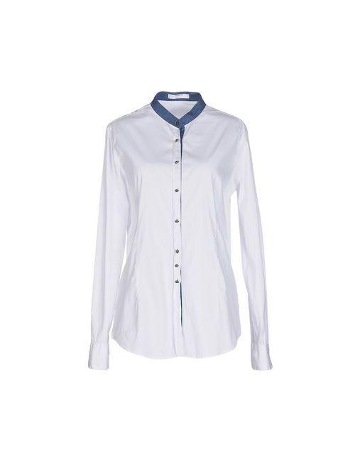 Aglini | Мужская Белая Pубашка