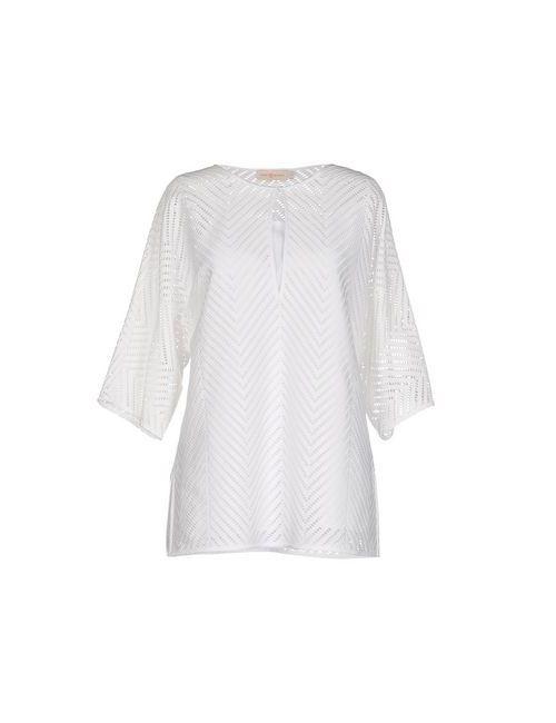 Tory Burch | Женская Белая Блузка