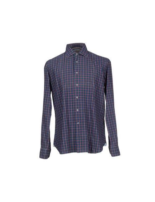 Orian | Мужская Синяя Pубашка