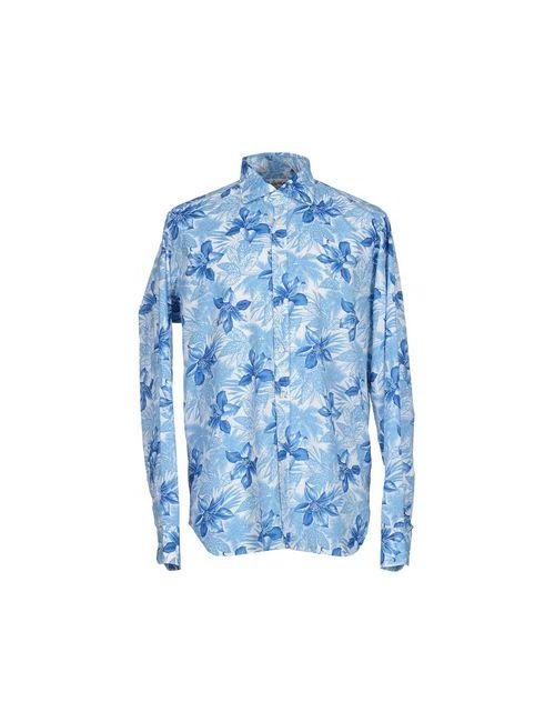 Bevilacqua | Мужская Синяя Pубашка