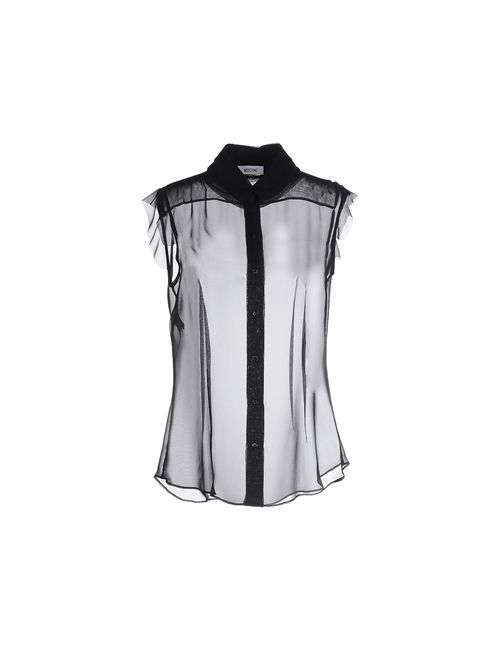 Moschino | Мужская Чёрная Pубашка