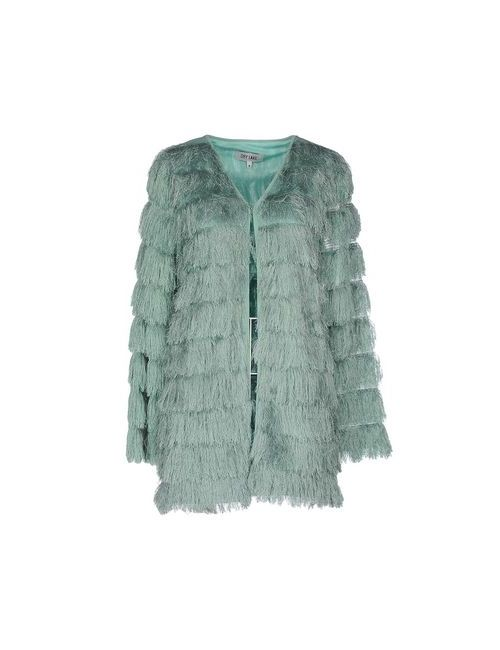 DRY LAKE. | Женское Зелёное Легкое Пальто
