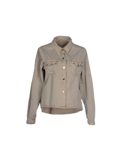 Gj Gaudi' Jeans | Мужская Серая Pубашка