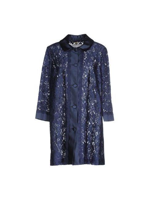 Blugirl Blumarine | Женское Синее Легкое Пальто