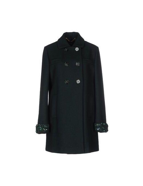 Seventy | Мужское Зелёное Пальто