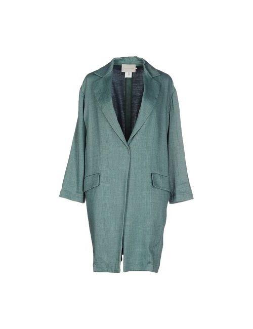 L' Autre Chose | Женское Зелёное Легкое Пальто
