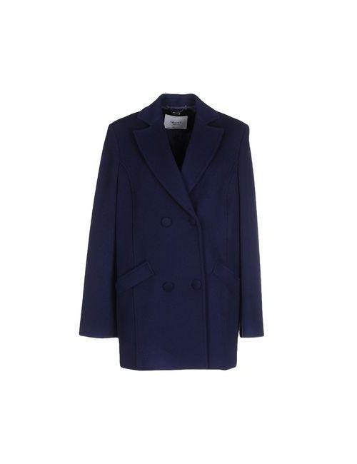 Blugirl Blumarine | Мужское Синее Пальто