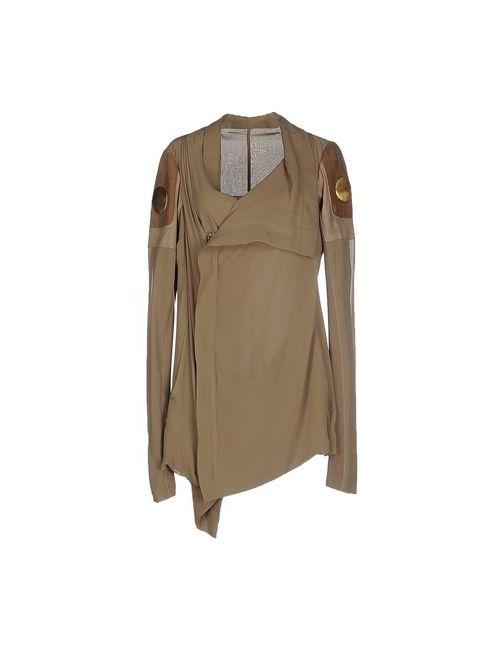 Rick Owens | Женское Хаки Легкое Пальто