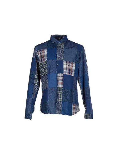 COSTUMEIN | Мужская Синяя Pубашка