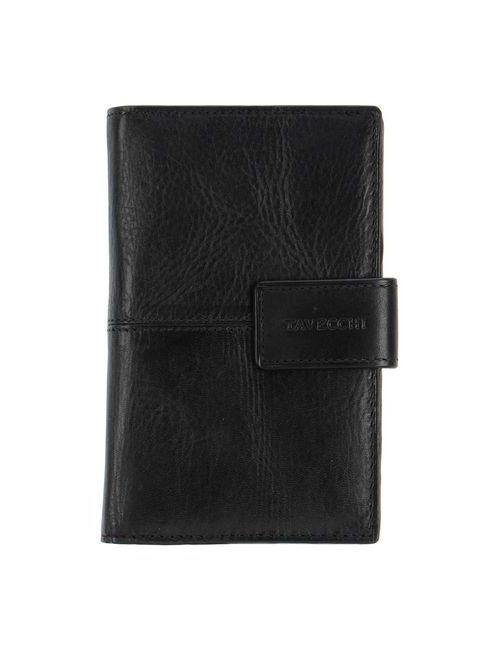 Tavecchi | Мужской Чёрный Бумажник