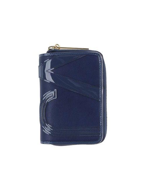 Versace Jeans | Мужской Синий Бумажник