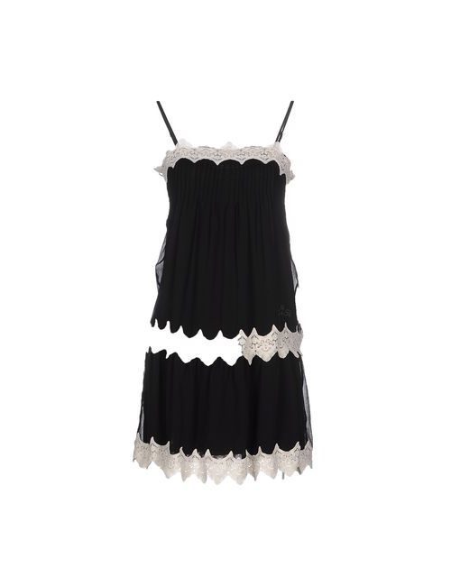 Twin-Set Lingerie | Женская Черный Ночная Рубашка