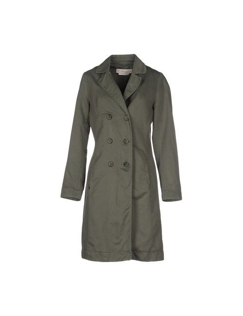Manila Grace Denim | Женское Зелёное Легкое Пальто