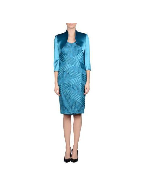 Musani Couture | Женский Бирюзовый Классический Костюм