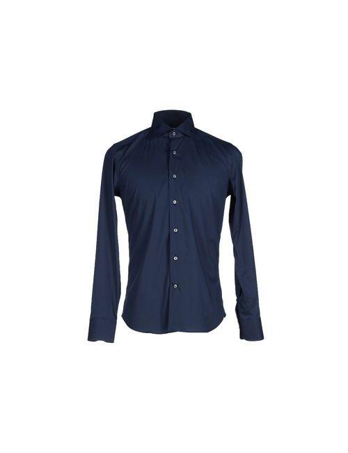 GHIRARDELLI | Мужская Синяя Pубашка