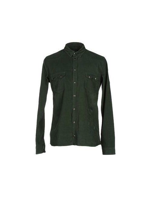 Junk de Luxe | Мужская Зелёная Pубашка