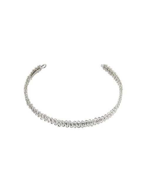 Maison Margiela | Женское Серебристое Ожерелье