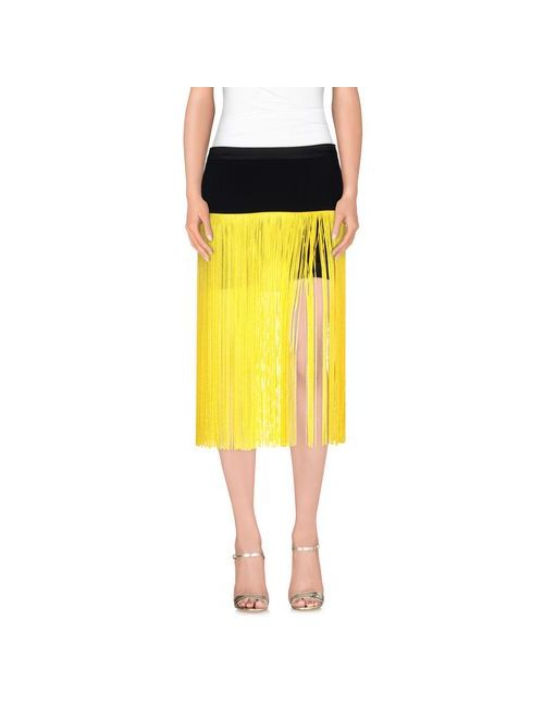 Space Style Concept | Женская Жёлтая Мини-Юбка