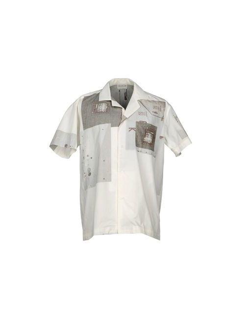 Lou Dalton | Мужская Белая Pубашка