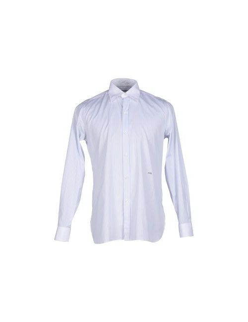 CURRENT/ELLIOT + CHARLOTTE GAINSBOURG   Мужская Белая Pубашка