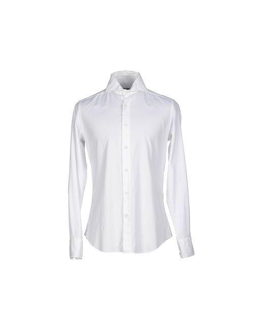 Cerdelli | Мужская Белая Pубашка