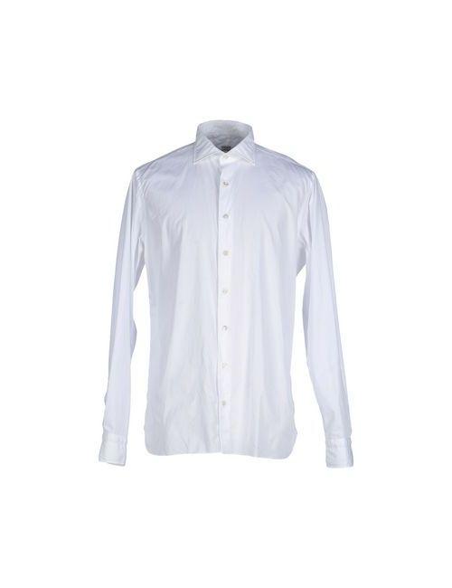 BORRIELLO NAPOLI | Мужская Белая Pубашка
