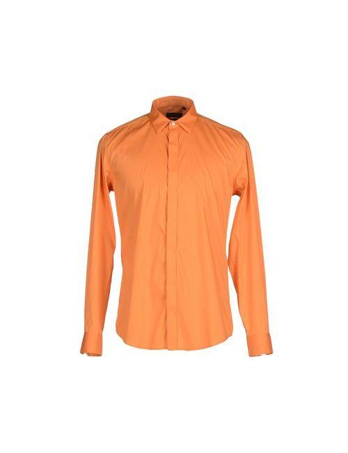 Antony Morato | Мужская Оранжевая Pубашка