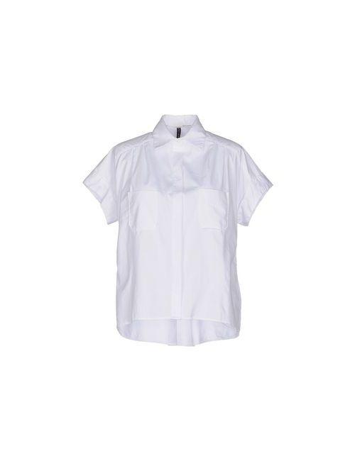 Manila Grace | Мужская Белая Pубашка
