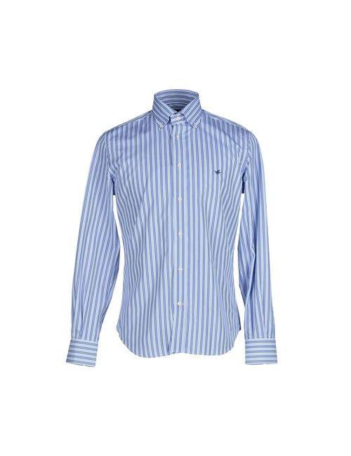 Brooksfield | Мужская Синяя Pубашка