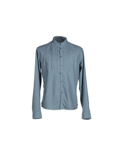 Ar And J | Мужская Синяя Pубашка