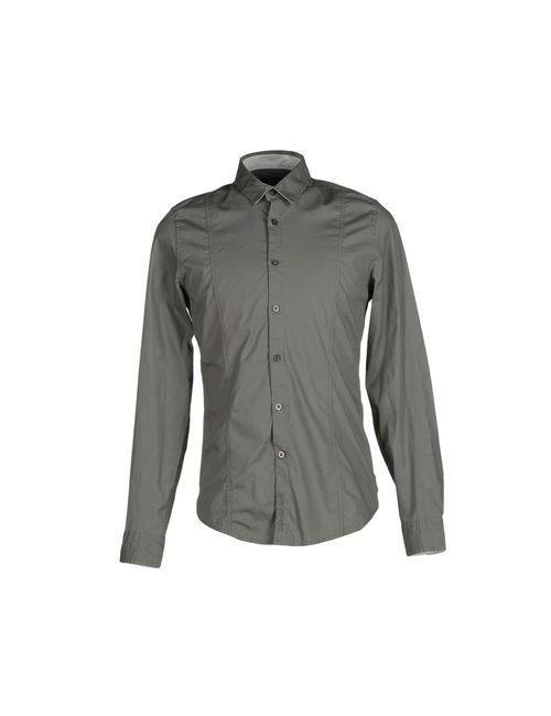 Calvin Klein Jeans | Мужская Серая Pубашка