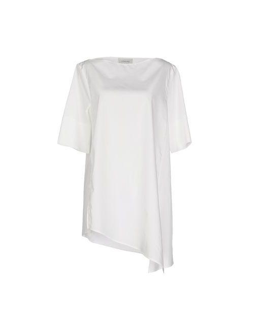 LEMAIRE   Женская Белая Блузка