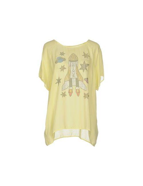 Brand Unique | Женская Жёлтая Блузка