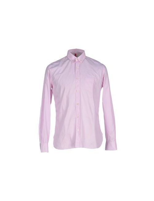 19•56 | Мужская Розовая Pубашка