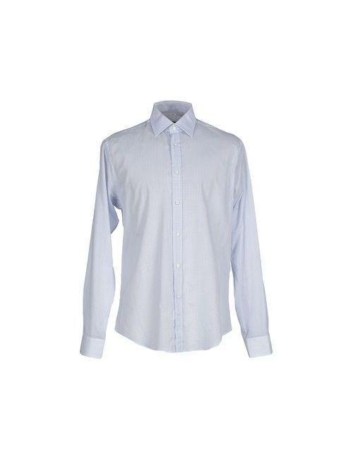 Brian Dales   Мужская Белая Pубашка