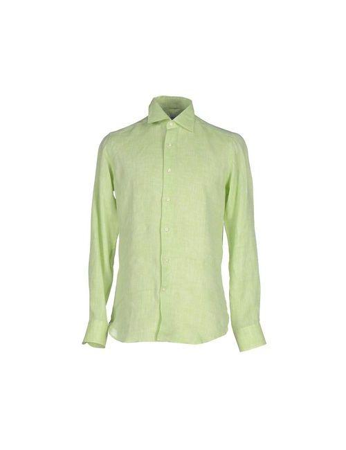 BONSER | Мужская Зелёная Pубашка