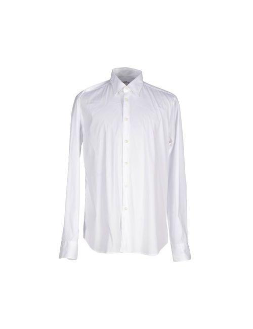 Seventy | Мужская Белая Pубашка