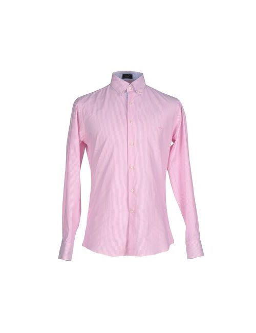 Paul & Shark | Мужская Розовая Pубашка