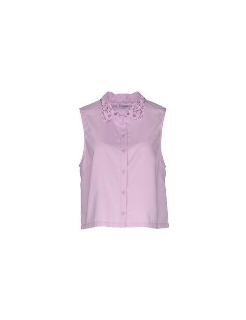 Glamorous | Мужская Фиолетовая Pубашка