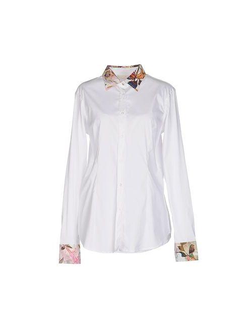 Macchia J | Мужская Белая Pубашка