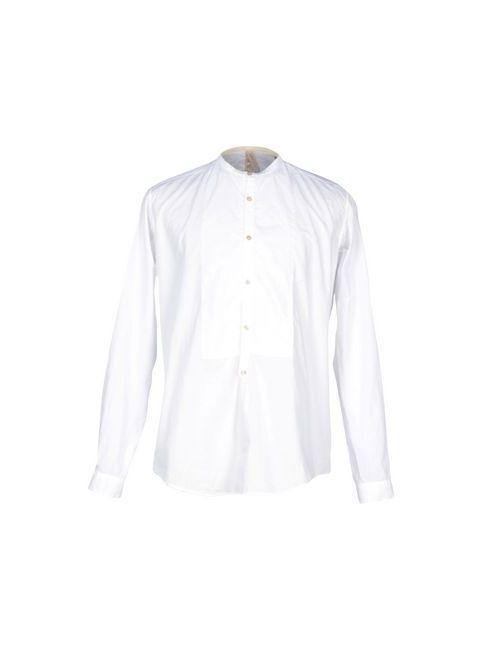 DNL | Мужская Белая Pубашка
