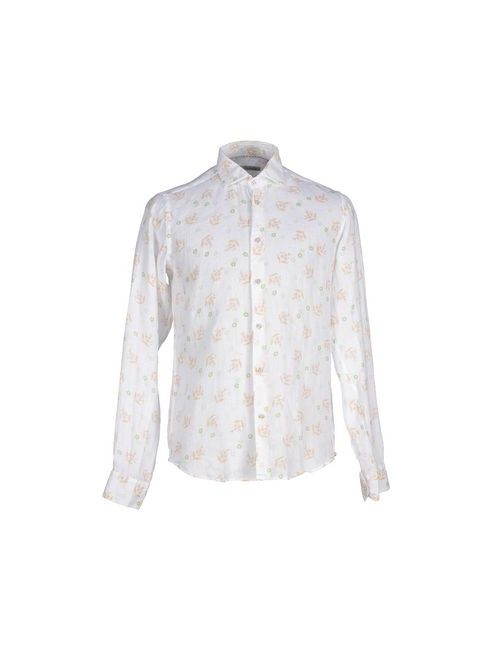 Barbati | Мужская Белая Pубашка