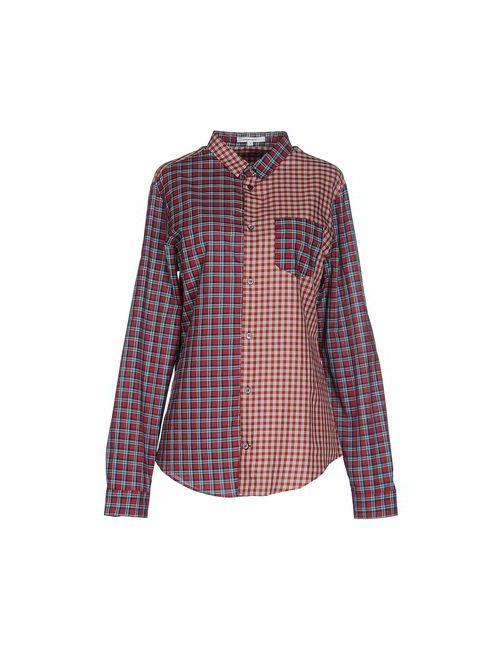 Carven | Мужская Красная Pубашка