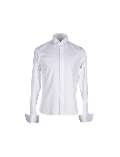 CRISTIANI | Мужская Белая Pубашка