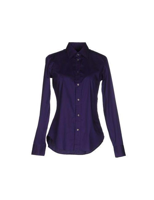 Ralph Lauren | Мужская Фиолетовая Pубашка